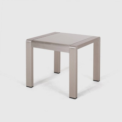 Cape Coral Aluminum Side Table - Christopher Knight Home
