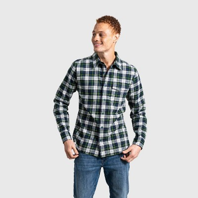 United By Blue Men's Organic Flannel Button-Down Shirt