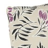 Floral Square Throw Pillow - Cloth & Co - image 3 of 4
