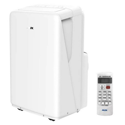 AUX 13000 BTU (8000 BTU/DOE) Portable Air Conditioner AM-08B3A3/MIR-F7 with Remote Control White