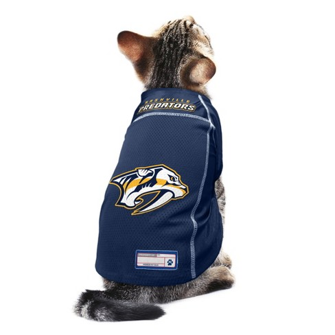 differently 2bcd0 12b72 NHL Nashville Predators Pet Jersey - XS