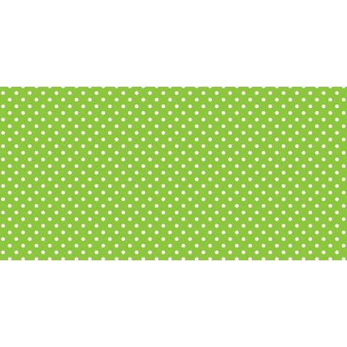 Fadeless Designs Paper Roll, Classic Dots Lime, 48 Inches x 12 Feet - image 1 of 1