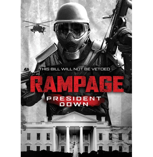 Rampage president down (DVD) - image 1 of 1