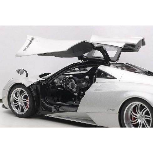 pagani huayra silver 1/18 diecast car modelautoart : target