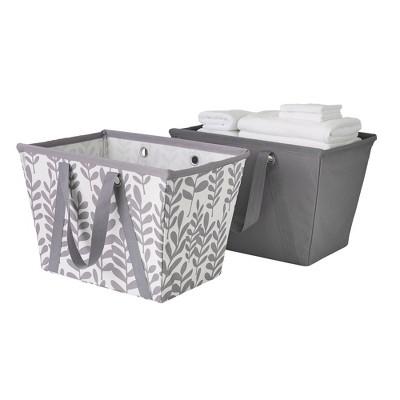 Neatfreak Set of 2 Easy Carry Flexible Laundry Tote