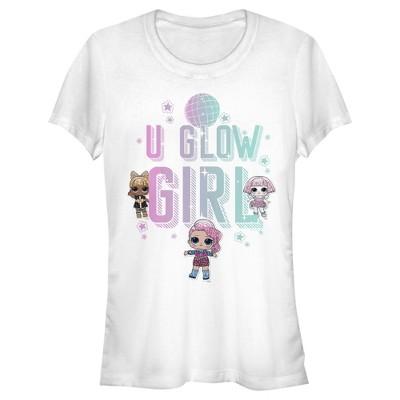 Junior's L.O.L Surprise U Glow Girl Disco T-Shirt