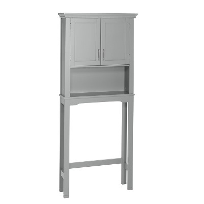 Somerset Collection - Spacesaver Cabinet- Gray - RiverRidge