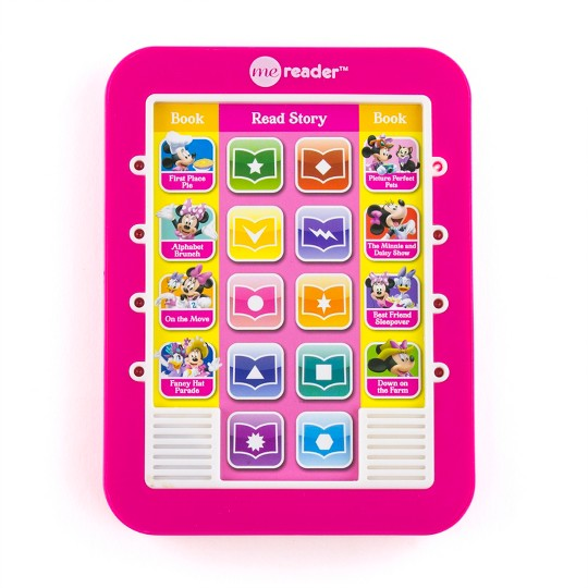 Disney Minnie Mouse Electronic Me Reader Story Reader and 8-book Boxed Set image number null