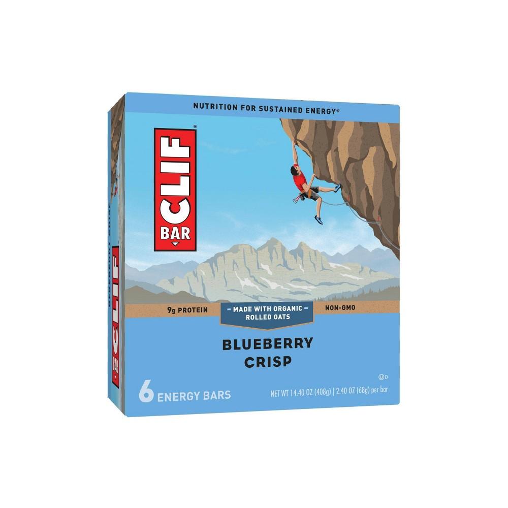 Clif Bar Blueberry Crisp Energy Bars 6ct