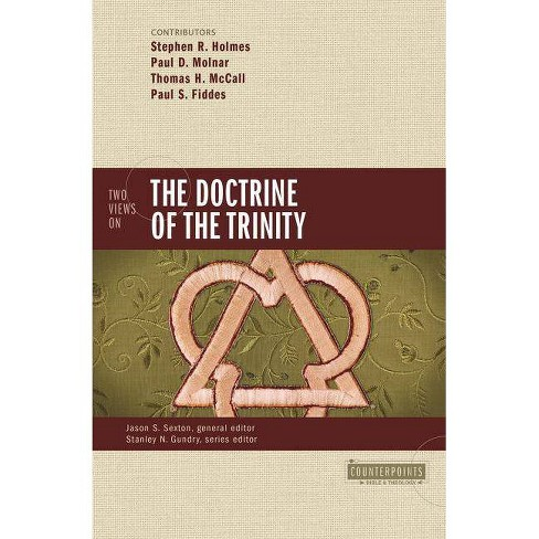 Two Views on the Doctrine of the Trinity - (Counterpoints: Bible & Theology) by  Stephen R Holmes & Paul D Molnar & Thomas H McCall & Paul Fiddes - image 1 of 1