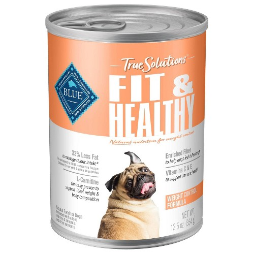 Blue Buffalo True Solutions Fit and Healthy Wet Dog Food - 12.5oz