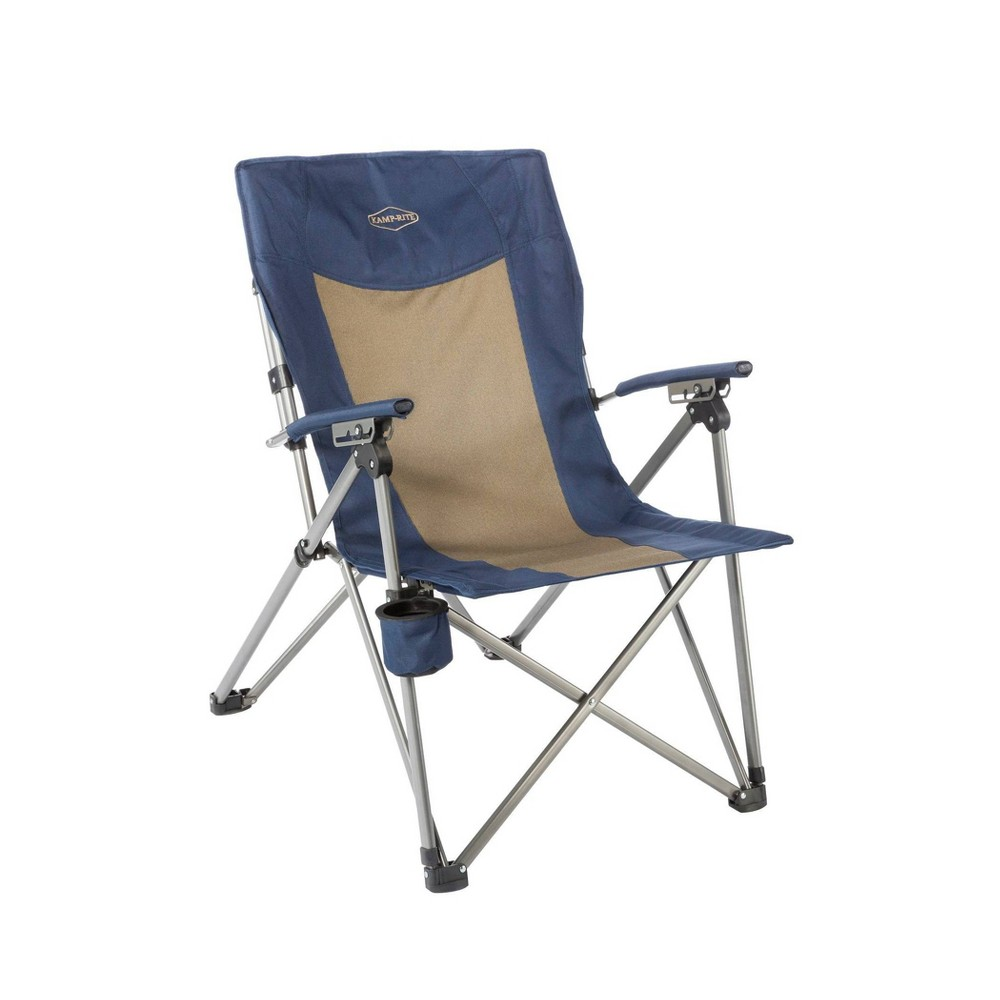 Image of Kamp-Rite 3 Position Hard Arm Reclining Chair