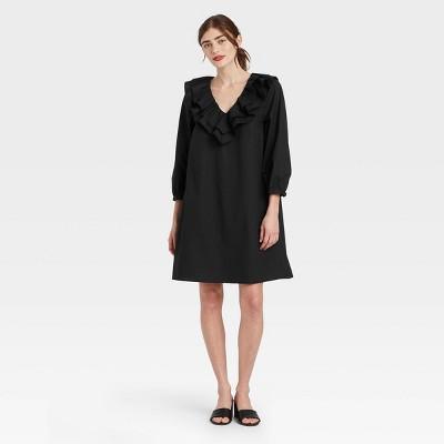 Women's Balloon Long Sleeve Dress- Who What Wear™