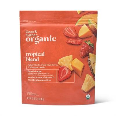 Organic Frozen Tropical Fruit Blend - 32oz - Good & Gather™