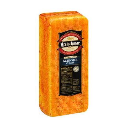 Kretschmar Muenster Cheese - price per lb - image 1 of 3