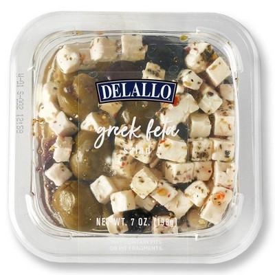 DeLallo Greek Feta Salad in Oil - 7oz