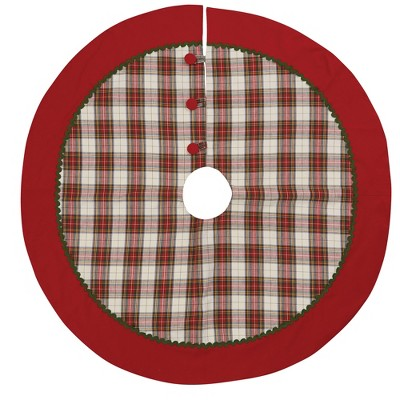 "Park Designs Through The Woods Tree Skirt - 52"" - Red"
