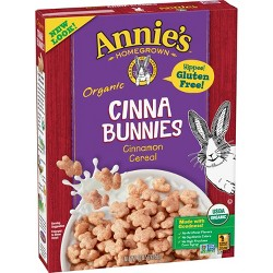 Annie's Homegrown Cinnabunnies Cinnamon Breakfast Cereal - 10oz