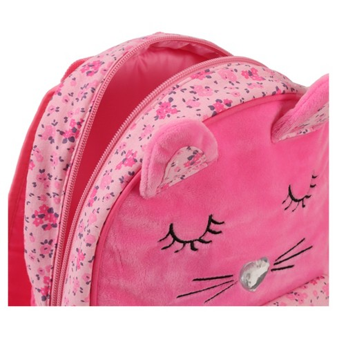 "Laura Ashley 11"" Mini Kids' Backpack - Cat Critter - image 1 of 3"