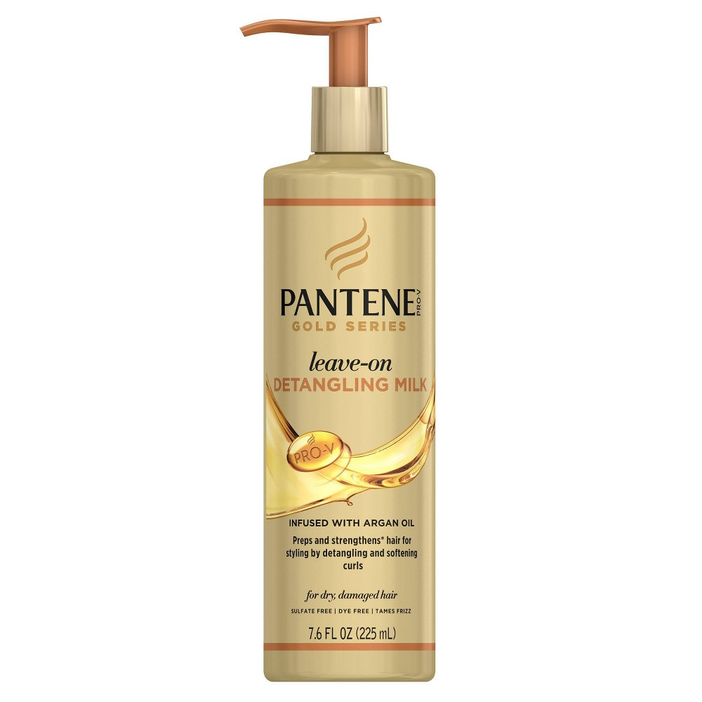 Image of Pantene Gold Series leave-on Detangling Milk - 7.6 fl oz