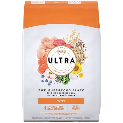 Nutro Ultra Superfood Plate Chicken, Lamb & Salmon Puppy Dry Dog Food