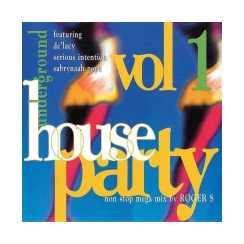 Various - Underground House Party: Vol. 1 (CD) - image 1 of 1