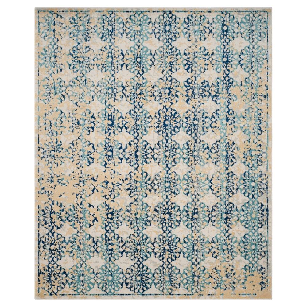 Buy Evoke Rug - Ivory Blue - (10x14) - Safavieh