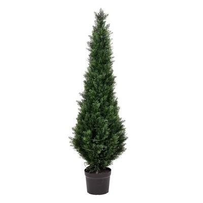 Artificial Potted Cedar Tree (UV) Green - Vickerman