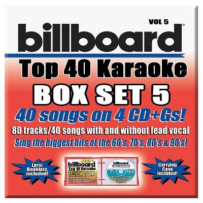 Party Tyme Karaoke - Billboard Top 40 Box Set Vol.5 (CD)