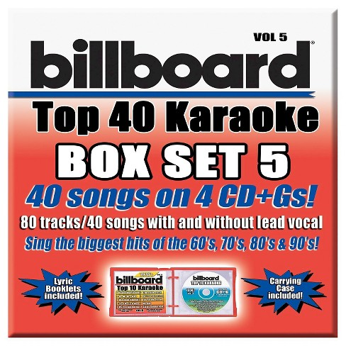 Party Tyme Karaoke - Billboard Top 40 Box Set Vol.5 - image 1 of 1