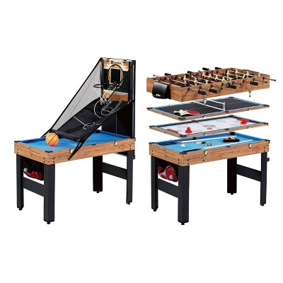 MD Sports 5 in 1 Combo Arcade Game Table