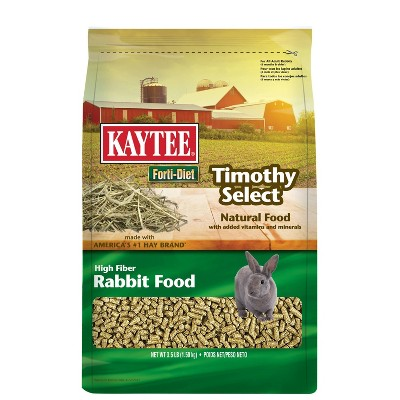 KAYTEE Forti-Diet Timothy Select Rabbit Food - 3.5lbs