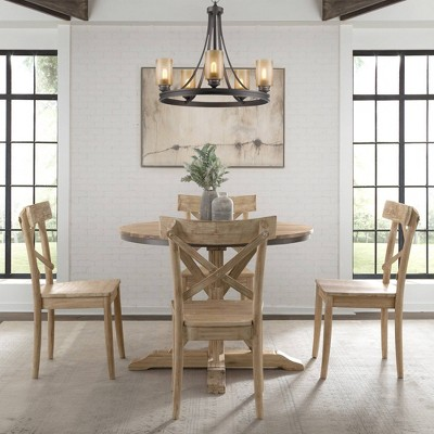 Keaton Round Standard Height Dining Table Beach - Picket House Furnishings