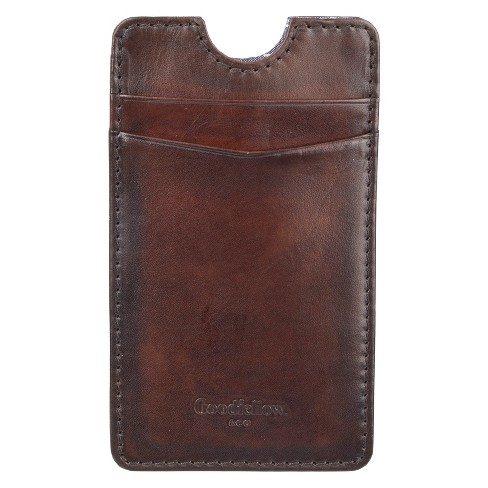 Men's Phone Case Pouch Wallet - Goodfellow & Co™ Brown One Size - image 1 of 3