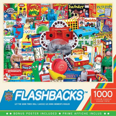 MasterPieces Inc Flashbacks Let the Good Times Roll 1000 Piece Jigsaw Puzzle