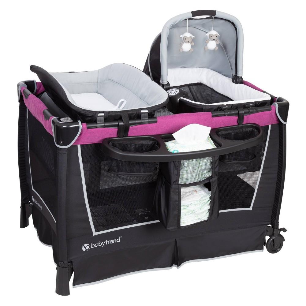 Image of Baby Trend Retreat Nursery Center - Mulberry