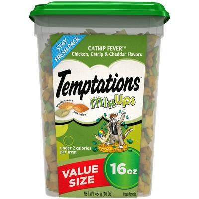 Temptations Mixups Catnip Fever Cat Treats Value Pack - 16 oz