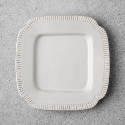 Stoneware Salad Plate - Cream - Hearth & Hand™ with Magnolia
