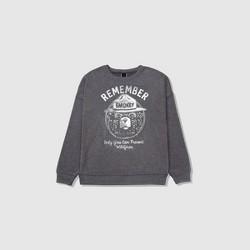 Women's Smokey Bear Sweatshirt - Charcoal