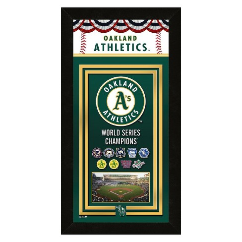Oakland Athletics Framed Championship Banner - image 1 of 1