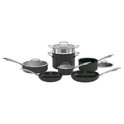 Cuisinart DS Anodized 11pc Cookware Set - DSA-11
