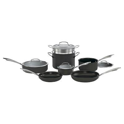 Cuisinart DS Anodized 11pc Cookware Set - DSA-11