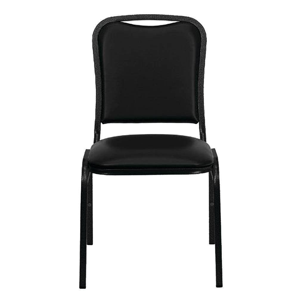 Image of HD Stack Chair Black - PDG