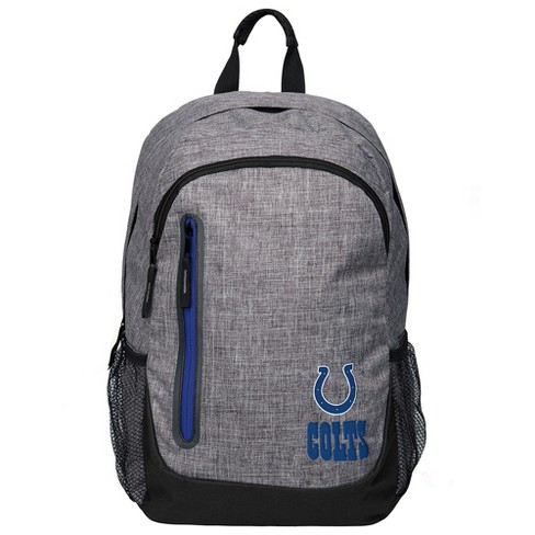NFL Indianapolis Colts Forever Collectibles - Heather Gray Bold Color Backpack - image 1 of 3