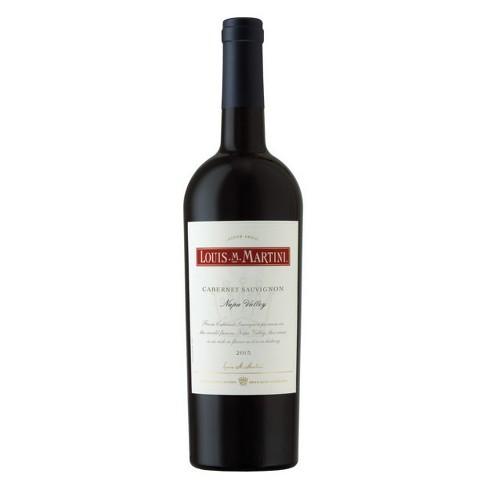 Louis M Martini Napa Cabernet Sauvignon Red Wine - 750ml Bottle - image 1 of 1