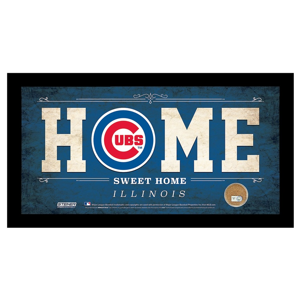 Chicago Cubs Steiner Sports Home Sweet Home Sign - 6x12 inch