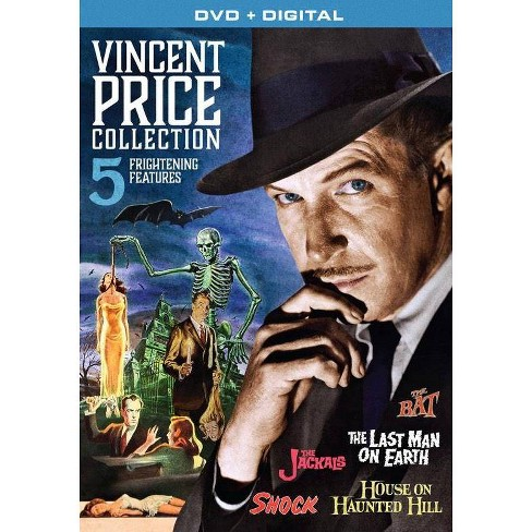 Vincent Price Collection 5 Frightening Features Dvd 2017 Target