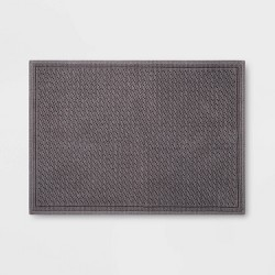 "21""x30"" Performance Solid Bath Mat - Threshold™"