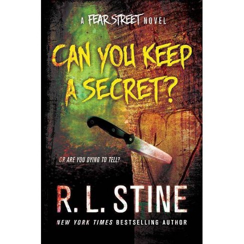 Can You Keep a Secret? - (Fear Street) by  R L Stine (Hardcover) - image 1 of 1