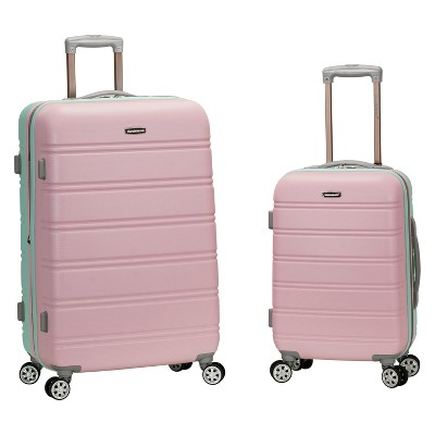 Rockland 2pc Expandable Spinner Luggage Set - Mint
